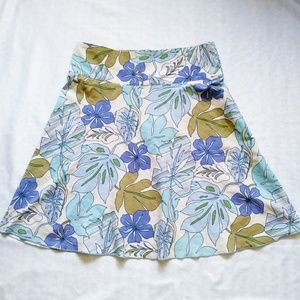Matty M summer floral skirt